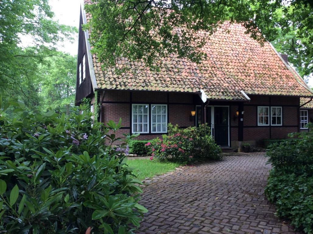 ingang vakantiehuis